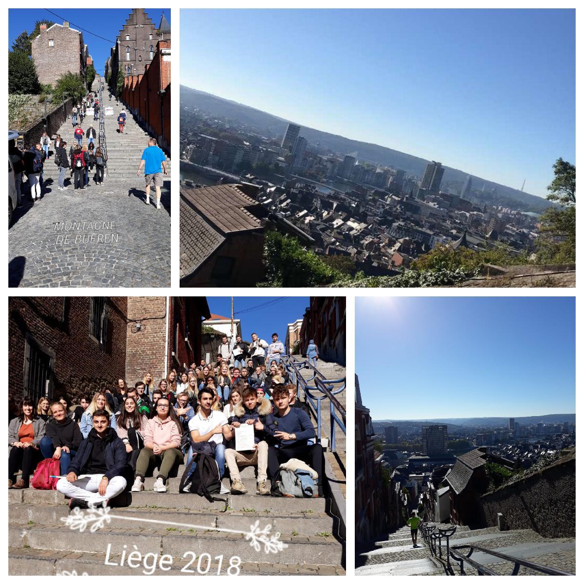 Exkursion der Französischkurse nach Liège