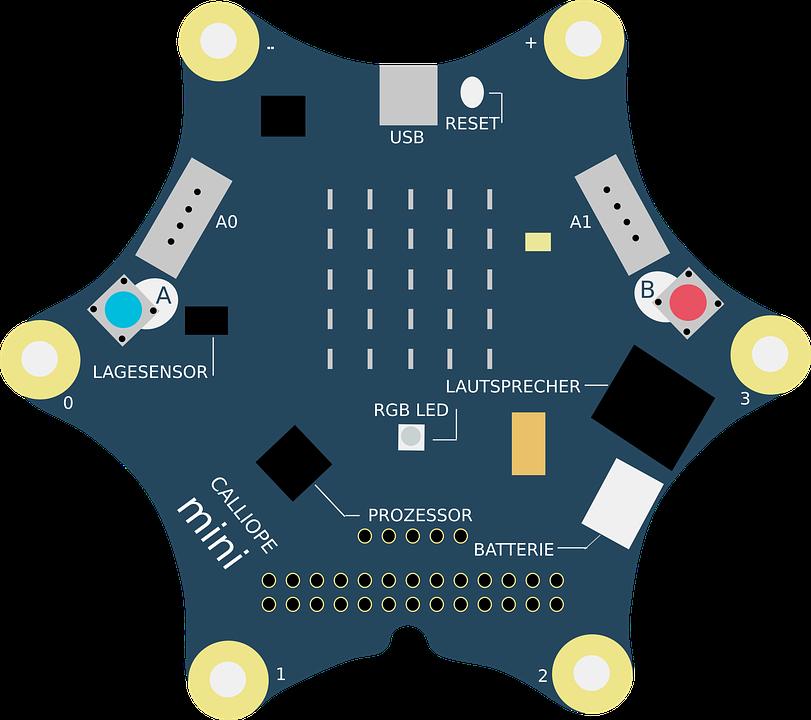 Programmieren macht Laune! CALLIOPE-Mini Computer für die KKG