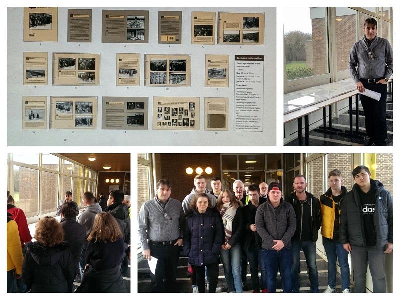 """Einzigartige Ausstellung """"Auschwitz-Album"""" an unserer Schule"""
