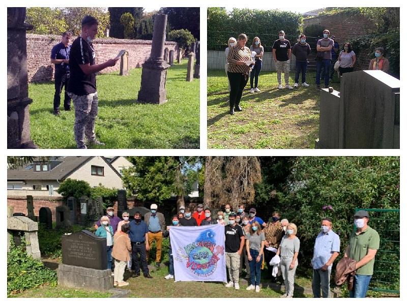 Erfolgreicher Tag des offenen Denkmals auf dem jüdischen Friedhof