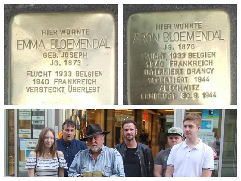 """""""KKG – Gegen das Vergessen"""" unterstützt Stolpersteinverlegung"""