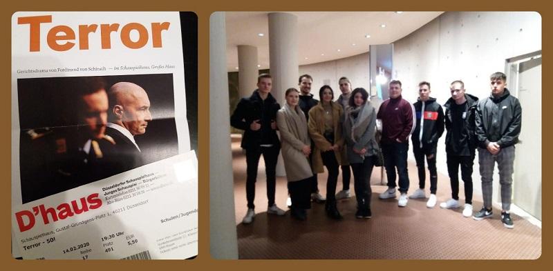 Literaturkurs der Q1 im Düsseldorfer Schauspielhaus