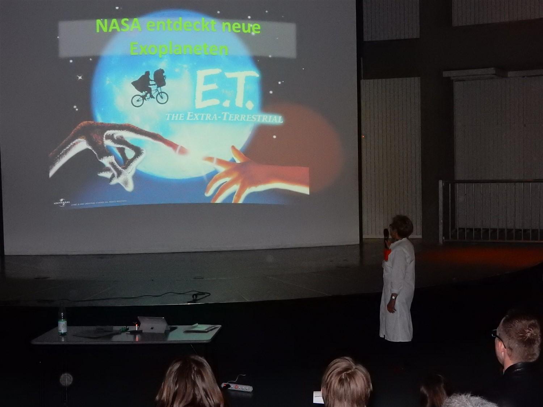 Kosmos-Abend: Käthes-Weltraum-Forschungsteam (KWF)