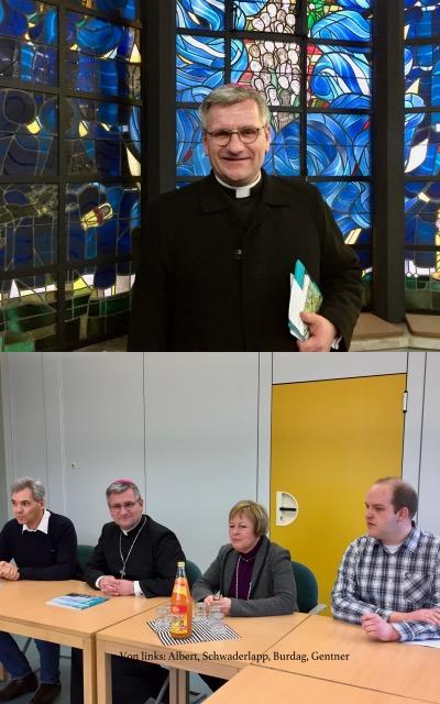 KKG: Weihbischof Dr. Dominikus Schwaderlapp besuchte unsere Schule