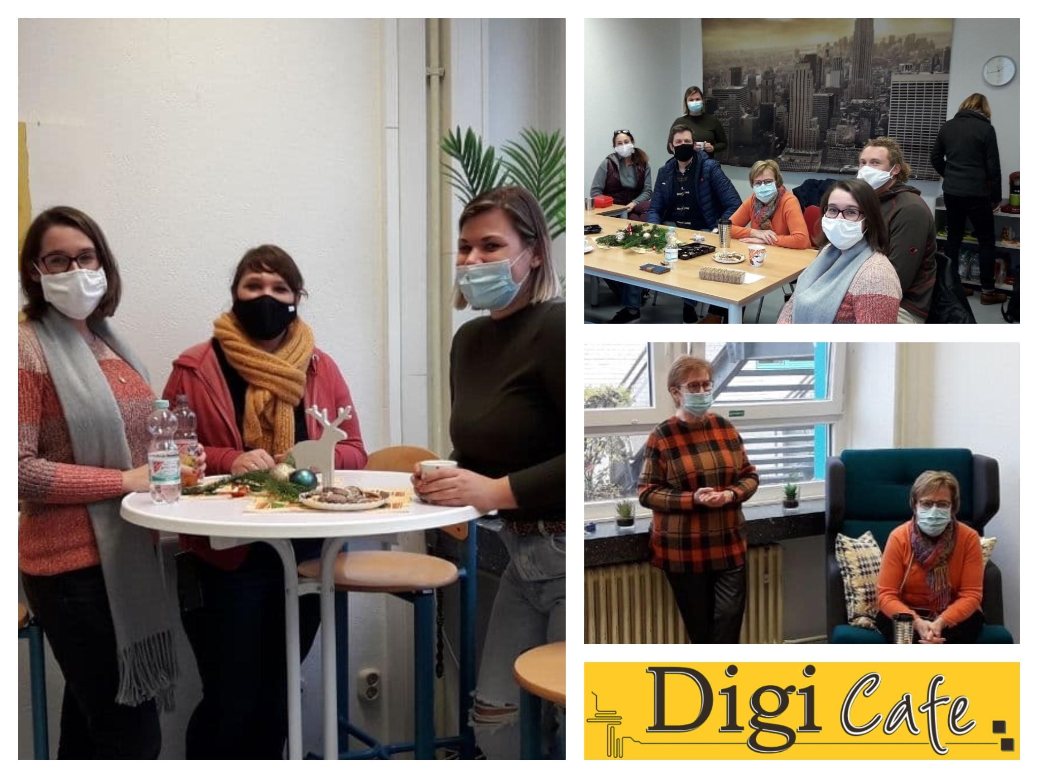 Digi-Cafe wurde in Betrieb genommen